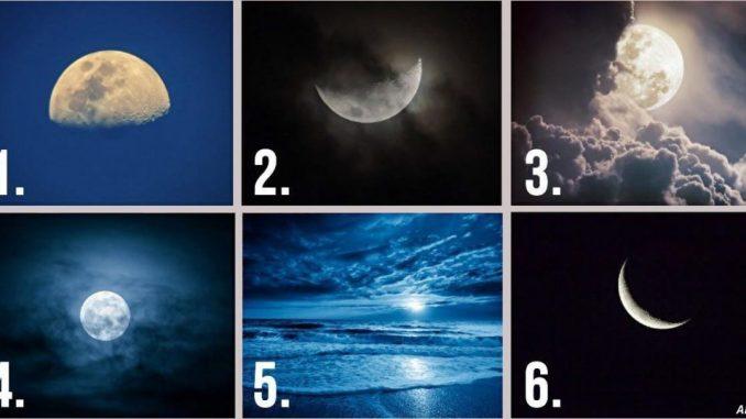 Тест: виберіть зображення Місяця і дізнайтеся про себе дещо цікавеньке