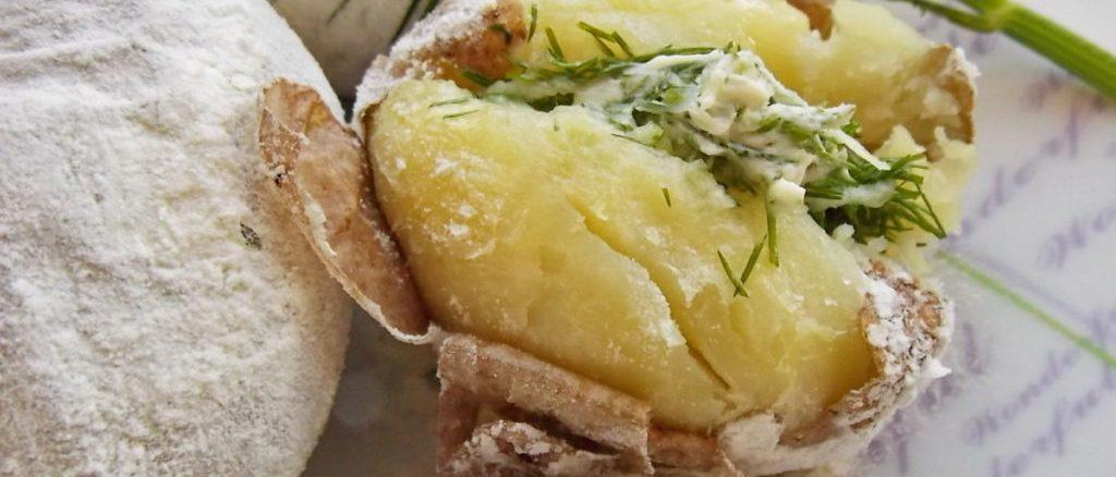 КАРТОПЛЯ, СІЛЬ, БОРОШНО: простий рецепт картоплі як з вогнища у вас в духовці