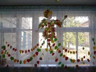 Прикрашаємо школу та садочок до свята осені 45 надихаючих фото-ідей (32)