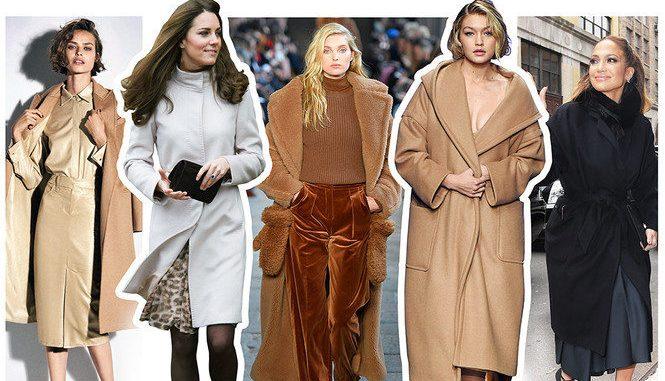 Зоряні моделі пальто: що носять знаменитості
