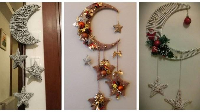 Новорічний півмісяць та зірочки: цікаві ідеї декору