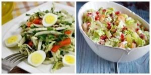 Салати з пекінської капусти — 10 рецептів на будь-який смак
