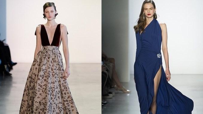Вечерние платья: главные модные тенденции-2019