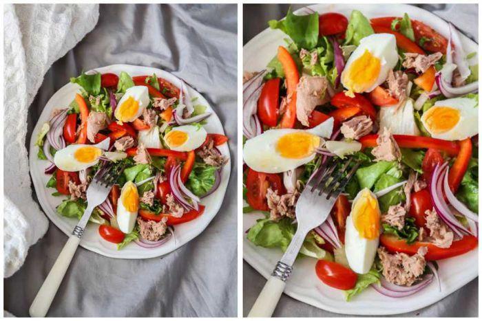 Рецепти на новий рік: салати з тунцем