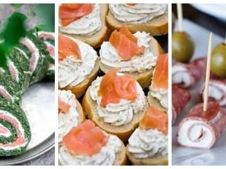 Святкові закуски з вершковим сиром рецепти та ідеї подачі (ФОТО)