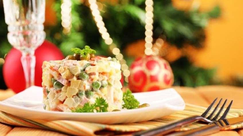 Оригінальні салати на Новий рік