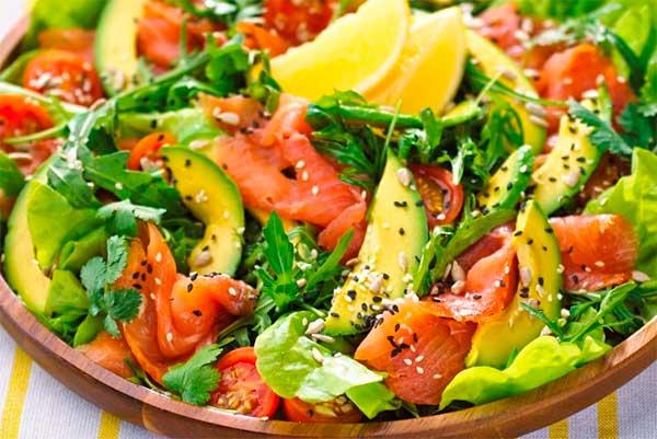 Рецепти на Новий рік - салати з авокадо