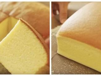 """Японський торт """"Кастела"""" — НАЙНІЖНІШИЙ БІСКВІТ (РЕЦЕПТ)"""