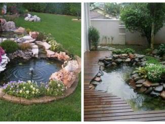 Маленькі водойми в дворі: 42 фото декоративних ставків своїми руками