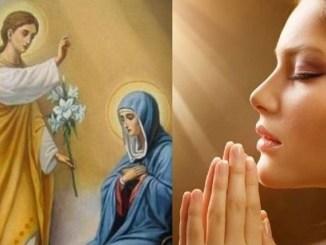 Молитва, яку слід промовляти на Благовіщення Пречистої Діви Марії