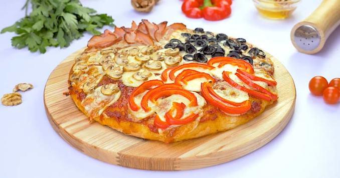 Домашня піца «4 сезони»