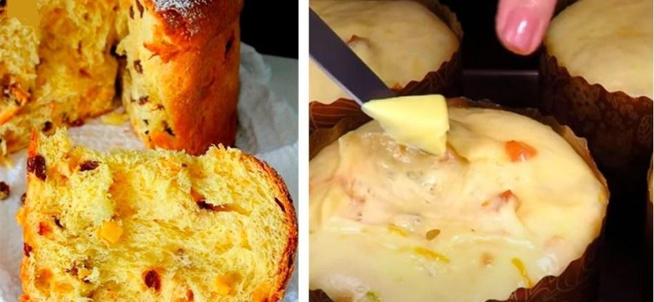Великодня паска ПАНЕТТОНЕ – ароматна італійська випічка. Перевірений покроковий рецепт з фото