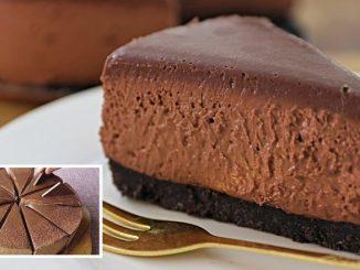 Шоколадний чізкейк — простий рецепт без випічки