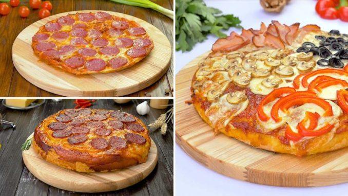 Як приготувати домашню піцу — 4 смачних рецепти
