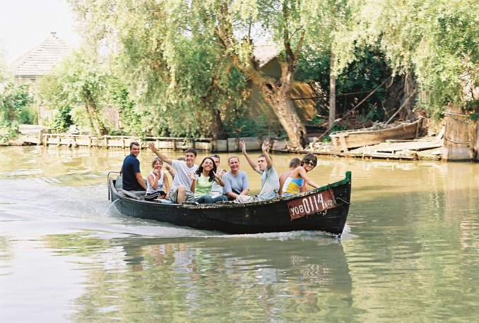 Вилкове: покататися на човні