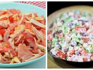 Салати з помідорів — 10 кращих рецептів