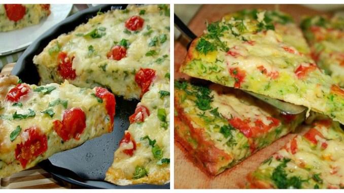Піца з кабачків — найсмачніші і прості рецепти кабачкової піци