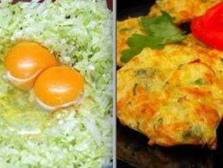 Соковиті і дивовижно смачні капустяні оладки