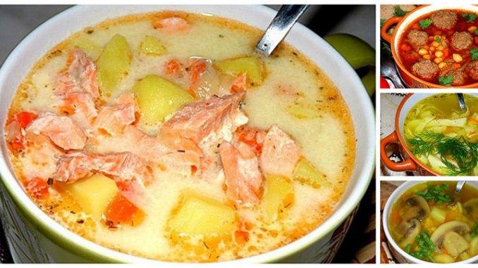 ТОП-30 найсмачніших і популярних супів — рецепти