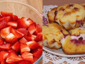 Сирні кекси з полуницею — готуються швидко і розлітаються миттєво