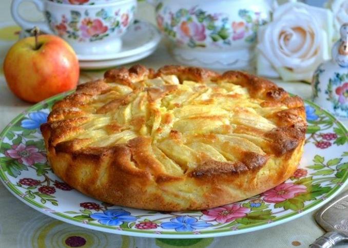 Якщо пиріг з яблук, то тільки такий! Шарлотка по-домашньому