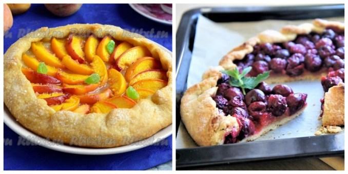 Борошно, масло + улюблені фрукти і 30 хвилин вашого часу! Найпростіший пиріг — Галета з фруктами