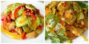 Салати з кабачків — свіжого, маринованого, по-корейськи. РЕЦЕПТИ