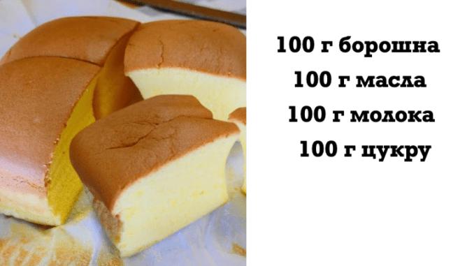 """Все по 100: покроковий рецепт приготування ідеального пишного пирога """"Кастелла"""""""