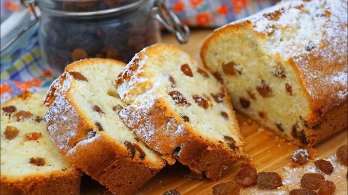 Сирний кекс «Ніжність» з родзинками: простий рецепт за 30 хвилин