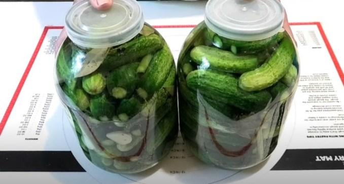 Найпростіший метод засолювання огірків на зиму. Спробуйте і не пошкодуєте!