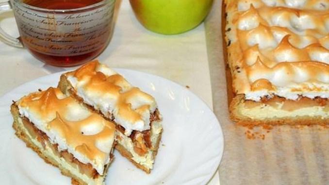 Один з найпростіших і вишуканих десертів для свята — німецький яблучний пиріг