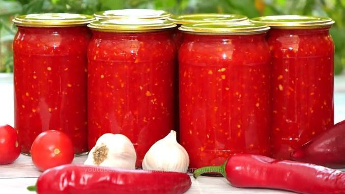 """Аджика """"Кобра"""" на зиму — найпростіший і смачний рецепт. Універсальна заправка (соус) для багатьох страв!"""