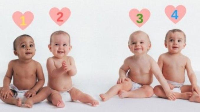 Більшість людей не можуть вгадати, хто з малюків – дівчинка. Перевірте інтуїцію