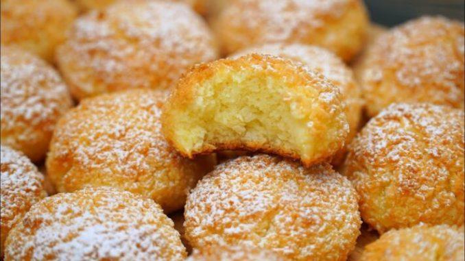 Без борошна, без масла, без міксера! Дуже смачний рецепт печива всього з 3-ох інгредієнтів!