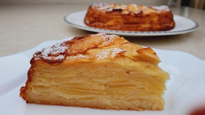 Більше яблук, ніж тіста! Супер вершковий яблучний пиріг!