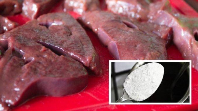 Чому потрібно додавати крохмаль до смаженої печінки