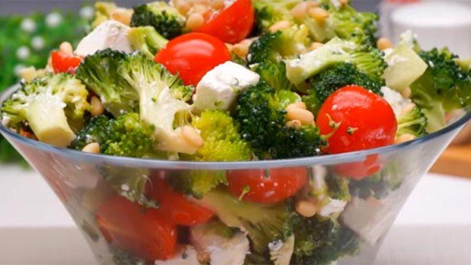Всього 4 інгредієнти в складі — салат без майонезу «Мілена»