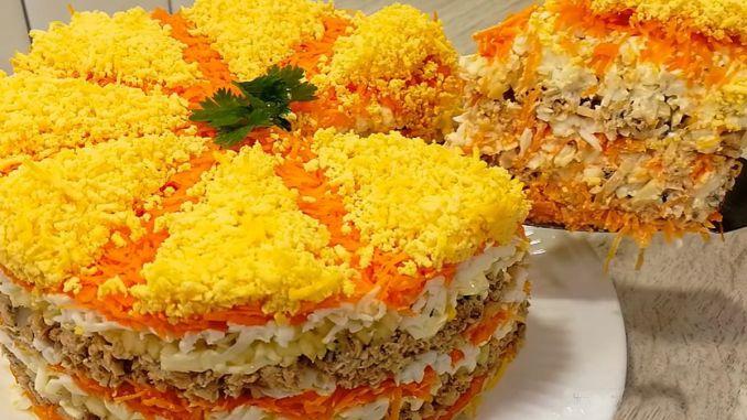 """Французька Мімоза"" — салат, в якому все ідеально"