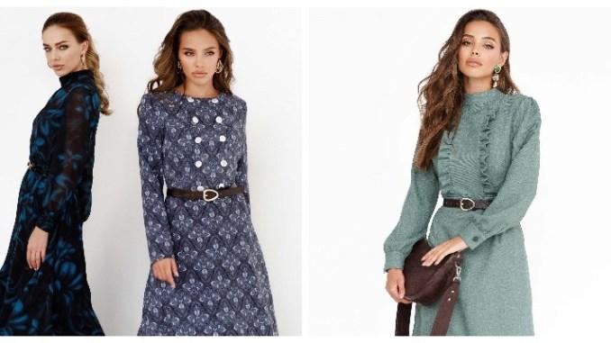 Объемные рукава, экокожа, асимметрия: какие платья должны быть в гардеробе зимой 2021