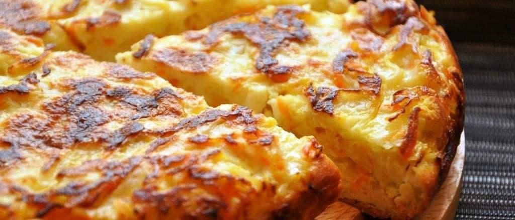 Заливний пиріг з капустою: завжди виходить м'яким і смачним!