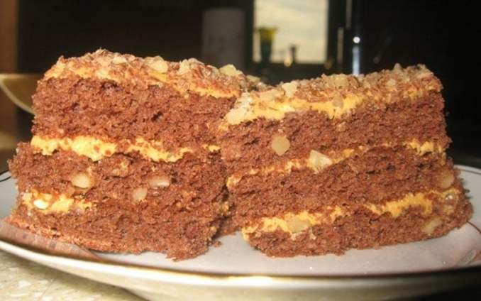 Торт «Золотий ключик»: рецепт дуже простий