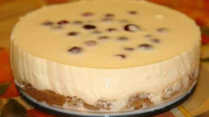 Класичний рецепт приготування чізкейку зі згущеним молоком, без випічки!
