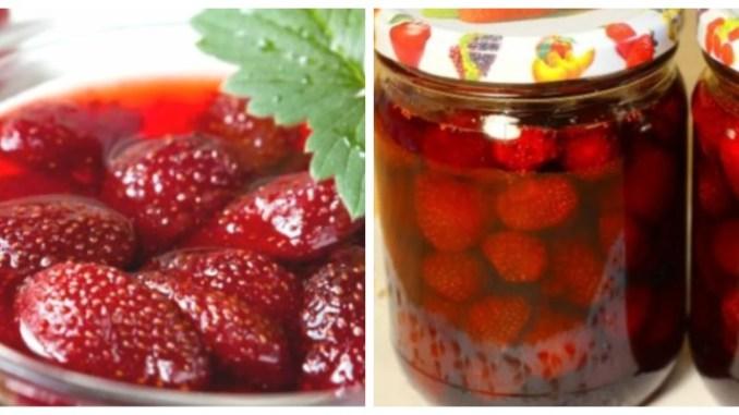 Мій спосіб приготувати полуничне варення, щоб ягоди виходили як мармеладки. Вже багато років так роблю!