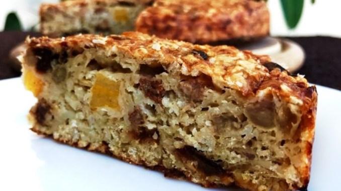 Пиріг із вівсянки на сніданок: смачно, просто і корисно! Без борошна і цукру