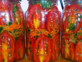 Перепробувала безліч рецептів, КРАЩОГО НЕ ЗНАЙШЛА! Смачні помідори ПО-КОРЕЙСЬКИ