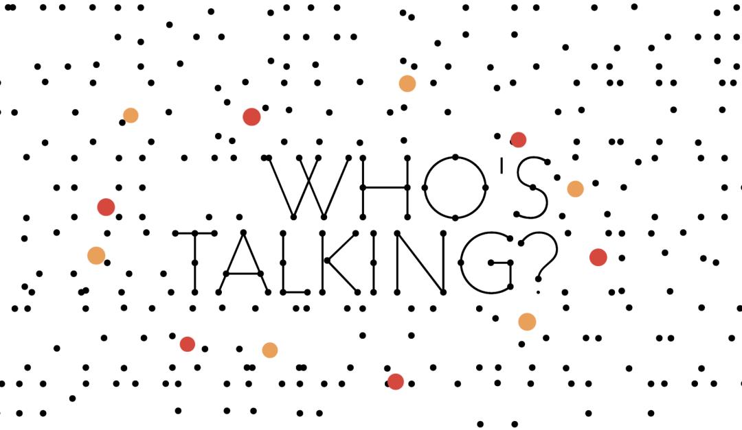 Who's Talking? Plakat KOLK 17
