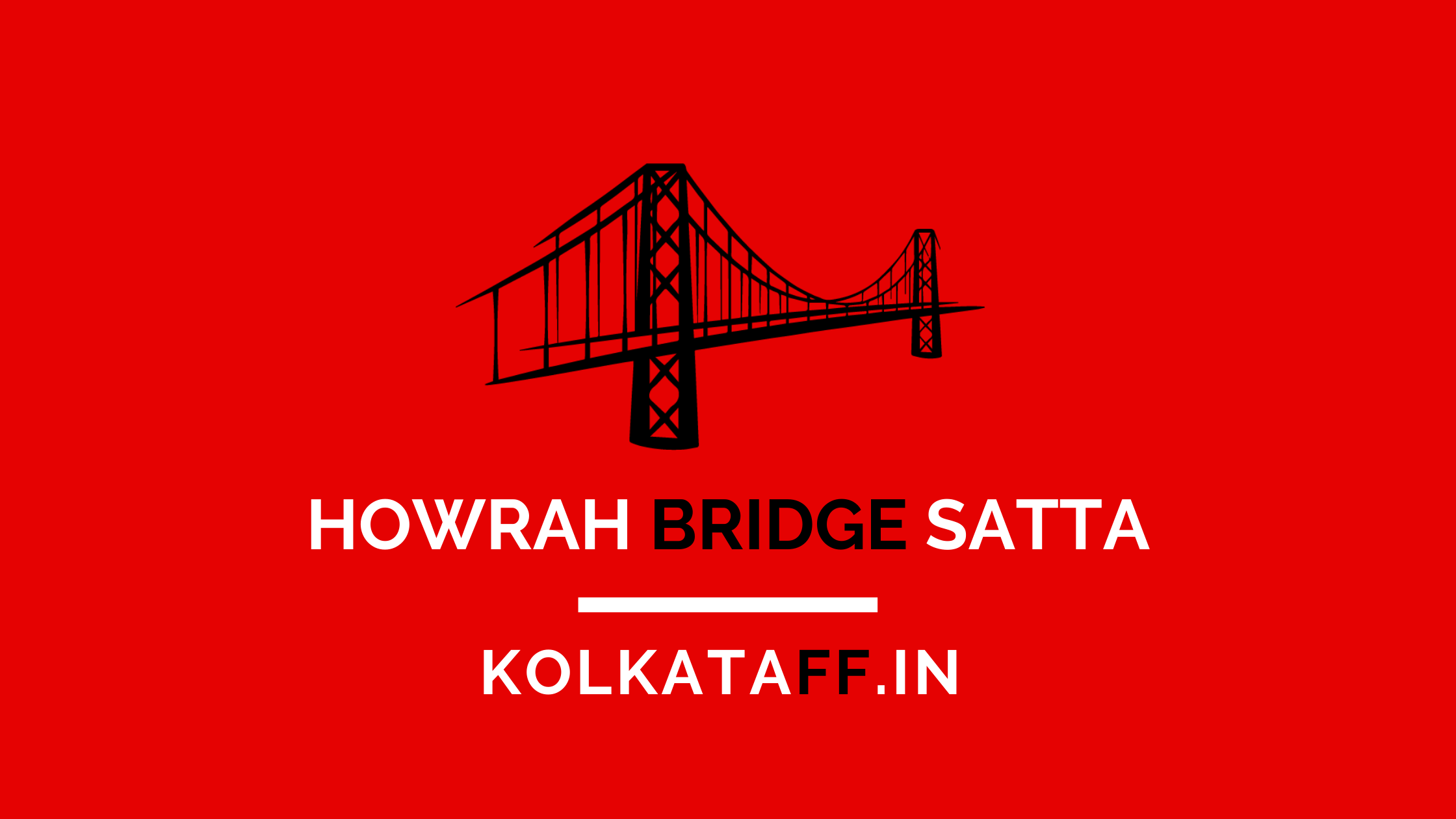 howrah bridge satta