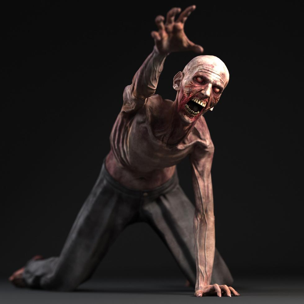 Zombie Game Character Andor Kollar Character Artist