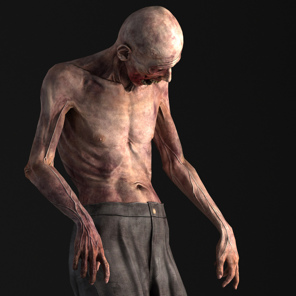 Zombie Game Character Andor Kollar Character Artist