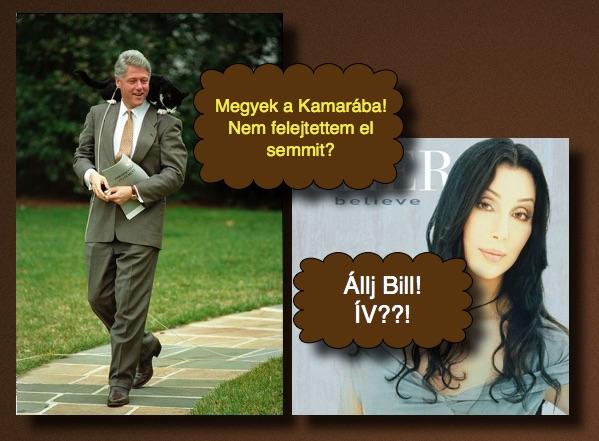 És végül, Chernek hála, Bill sem felejtette otthon az ívet.